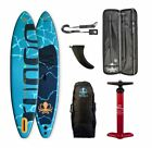 RUNGA MARINO INFLATABLE STAND-UP PADDLE BOARD SUP iSUP 11.4 FUß SURFBOARD #37