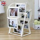 Retro Style Embossment Ferris Wheel Photo Frame Windmill Picture Holds Gifts UK