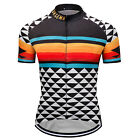 New Mens Bike Team Road Jerseys Cycling Shirt Short Sleeve Tops Clothing Outfits