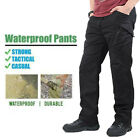 Soldier Tactical Pants Cargo Working Trousers Waterproof Hiking Sports Pants
