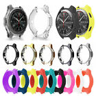 Silicone/ TPU Protector Watch Case Cover For Samsung Gear S3 Frontier Classic US image