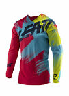 Leatt GPX 4.5 Lite Gold Mens MX Offroad Jersey Red/Lime