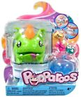 POOPAROOS! GREEN DRAGON ORANGE HAIR IT's SQUSIHY,EATS & POOPS With 3 FOODS! New