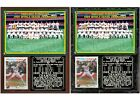 1989 Oakland Athletics World Series Champions Photo Card Plaque on Ebay