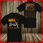KISS Band T-Shirt End Of The Road Farewell Tour 2019 Concert Music Fan Black Tee image