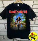 Iron Maiden Tour De France 2018 T-Shirt Rare Black Gildan Size S-3XL
