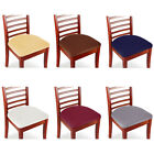 Kyпить Set of 2/4/6/8 Stretch Removable Washable Dining Room Chair Seat Cover Slipcover на еВаy.соm