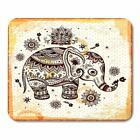 Mausepad Ethnic Elephant Rubber Speed Game Mouse Pad Mat SIZE 7.2x8 *