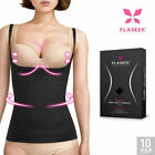 FLASEEK Seekret Open-Bust CAMISOLE Black Seamless Body Shaping Underwear_Va