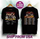 New Kiss Band Rock End of The Road World Tour 2019 T-Shirt S-5XL image