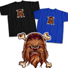 Chewbacca Star Wars Chewie Head Face Wookiee Crossbones Rebel Unisex Tee T-Shirt $16.2 USD on eBay