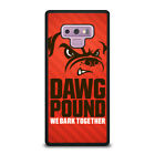 CLEVELAND BROWNS DAWG POUND Samsung Galaxy Note 4 5 8 9 Case Cover $15.9 USD on eBay