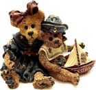 1998 BOYDS BEARS & FRIENDS - U.S.S. BOYDS MOTHER & SON BEARS 3""