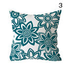 Nordic Style Blue Green Pillow Case Printing Sofa Cushion Cover Home Decor