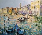 Venice Grand Canal. Original Oil Painting in Impressionist style, One of Kind