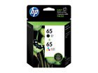 HP Genuine 65 Black Color Ink Cartridge In Bag Deskjet 2622 2652 2655 3720