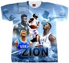 Zion Williamson T Shirt.  Zion Shirt. Adult and Youth Sizes. Basketball Shirt.  image