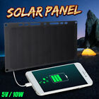 5V 10W 3000mAH Solar Power Charging Panel USB Charger For iPhone X Max Galaxy S9