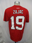 New Jersey Devils Men M L Reebok 19 Zajac T Shirt Red NHL $16.98 USD on eBay