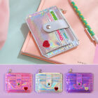PU Leather Love Printed Card Holder Bags Multi-Seat Bus Card Set Coin Mini Purse