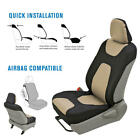 Neoprene Waterproof 2 PC Seat Cover Set - Armrest Controls and Airbag Compatible