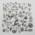 Antique Silver Jewelry Finding Charms Pendants Carfts DIY 108 style optional