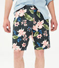 "aeropostale mens tropical floral 9.5"" stretch shorts <br/> The Official Aeropostale Store on eBay"