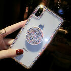 New Luxury Bling Diamond Airbag Stand Phone Case Cover for i Phone XS Max XR 8+