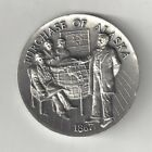1867 PURCHASE OF ALASKA WILLIAM SEWARD 49TH STATE SILVER LONGINES MEDAL COIN