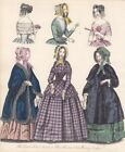 Kleidung, Kostüm, Schute, The Last and Newest London and Paris Fashions 18 57818