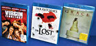 LOT OF 3 Blu-Ray Movies - VIRGIN TERRITORY, GRACE, JACK KETCHUM'S THE LOST
