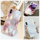Slim Fit Marble Pattern Case Soft TPU Protective Phone Covers For i Phone XS MAX