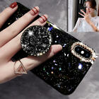 Bling Diamond Cute Star Clear Case Soft Rubber Cover For i Phone XS Max 8 7 XR