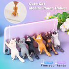 Universal Cute Cat Mobile Phone Holders Mounts Suction Cup Desktop Holder Stands