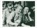 Peggy Mount Actress with David kossoh. - Vintage photo