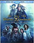 NEW NO SEAL BLU RAY DVD  PIRATES OF THE CRIBBEAN DEAD MEN TELL NO TALES No Dig