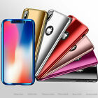 360 Full Cover Shockproof Slim Hybrid Hard PC For A pple i Phone XS MAX XR Case