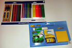 2 STATIONERY SETS STAEDTLER & SCOTCH: BOTH AND ON CARDS TOTAL 38 PIECES !!!!!!!
