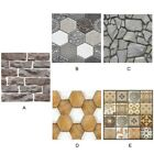 30*30cm DIY Self Adhesive Wall Tile Sticker 3D Decal Floor Kitchen Home Decor US