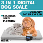 3IN1 Digital Livestock Pet Dog Scale Large Scale Tare Function Scale Over-Load