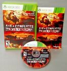 Air Conflicts Vietnam War Jet Plane Game  - Microsoft Xbox 360 Rare Complete