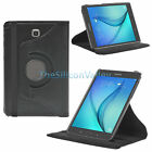 "Rotating Leather Smart Sleep/Wake Case Cover For Samsung Galaxy Tab A 9.7"" 8.0"""