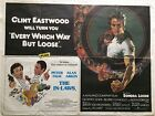 Every Which Way But Loose The In-Laws 1979 DB Movie Quad Poster Clint Eastwood