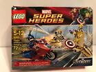 LEGO 6865 Marvel Super Heroes Captain America's Avenging Cycle  SEALED bad box