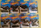 Lot of 8 Hot Wheels Batmoblie and Scooby-Doo rare vintage htf