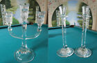 MARQUIS WATERFORD CRYSTAL SORRENTO CANDELABRA -Freshwater Downpour CANDLESTICK