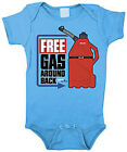 Smooth Industries Free Gas Infant MX Romper Blue/Red/Black
