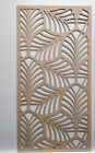 Radiator Cabinet Decorative Screening Perforated 3mm & 6mm thick MDF laser cutL2