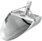 CKG Sand Scoop Metal Detector Shovel Stainless Treasure Hunting Handle Sifting
