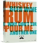 Naxart 'Whiskey, Beer and Wine Poster' Textual Art on Wrapped Canvas